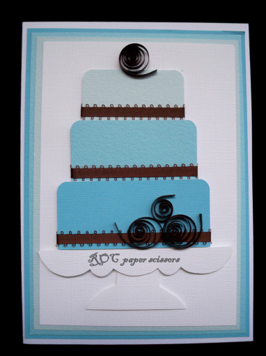 Something-Blue-wedding-cake