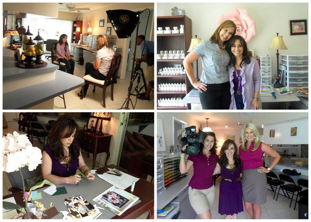 Bay News 9 did a story on us for two consecutive years. Melissa Eichman, Raechelle Davis and Amy Mariani. Last year they featured other local finalists and graciously mentioned ROC Paper Scissors as well in their piece.